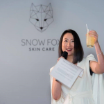 snow fox skin